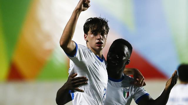 Italia U17, Oristanio piega l'Ecuador: azzurrini ai quarti col Brasile