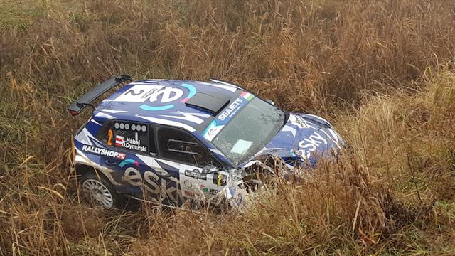ERC title contender Habaj hits trouble in Hungary
