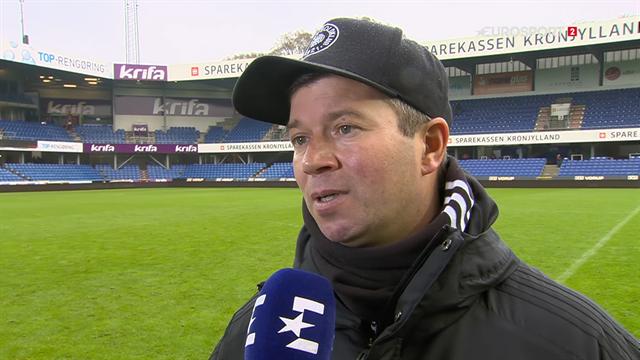 Christian Nielsen efter Randers-nederlag: Ingen stemning på stadion gjorde, at man ikke følte pres
