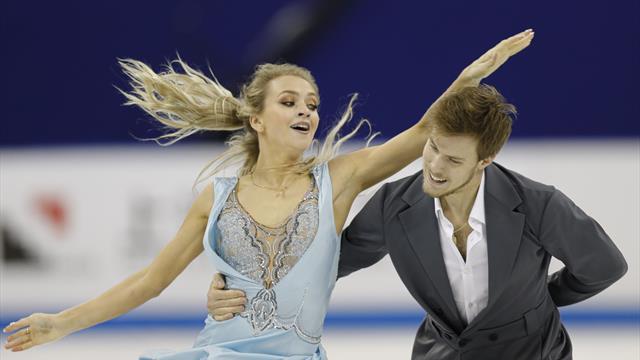 Синицина и Кацалапов выиграли ритм-танец в Китае с личным рекордом