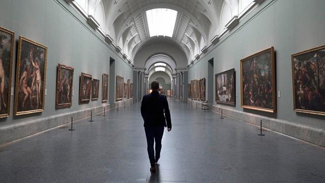 La lista más artística de la Selección española: En el Museo del Prado con cuadros muy futboleros