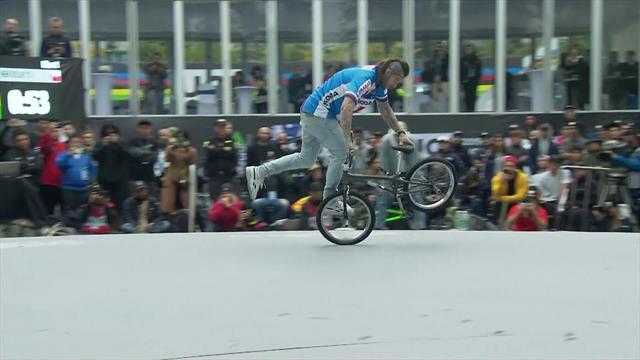 WK BMX | Dominik Nekolny laat zien hoe het moet...