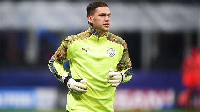 Guardiola: Ederson out of Liverpool match