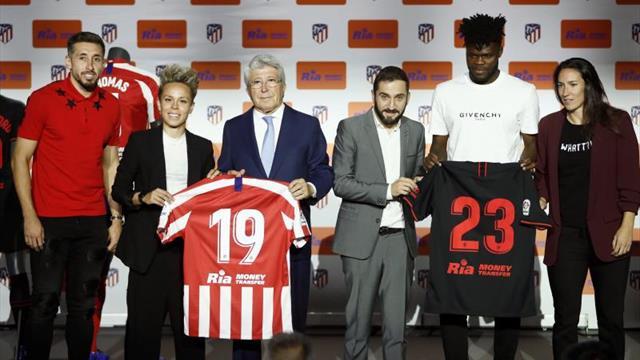 El Atlético firma un nuevo patrocinador para las próximas cuatro temporadas