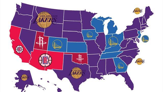Los Angeles Lakers, el equipo más odiado de la NBA en los Estados Unidos