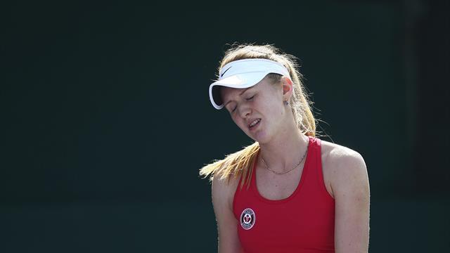 Bochorno en Las Vegas: Un saludo entre dos tenistas que acaba en pelea