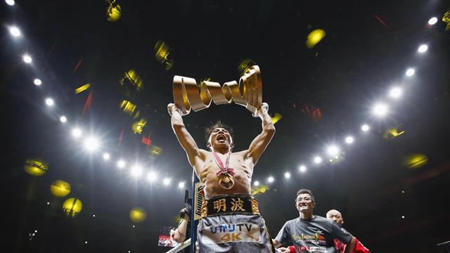 El maravilloso gesto de Inoue con los hijos de su rival Donaire tras ganarle la final del peso gallo