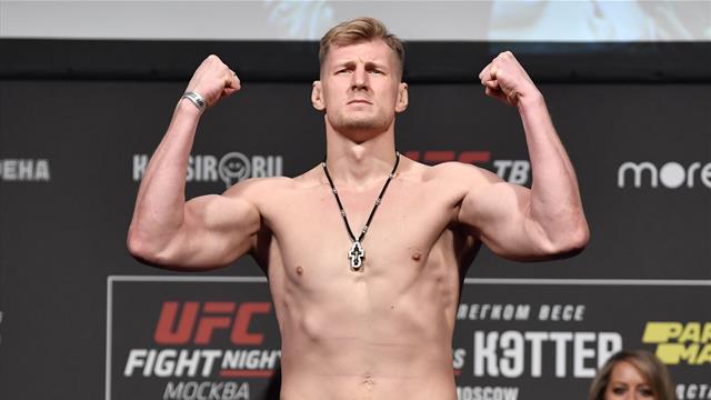 Волков оказался на 6,4 кг легче Харди перед ивентом UFC в Москве