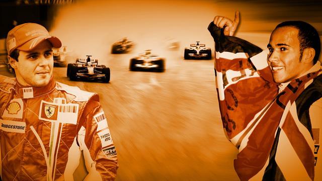 Felipe Massa, Interlagos 2008 e quei 38 secondi da campione del mondo