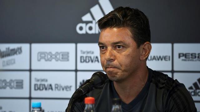 No puedo hacer eco de los rumores, dice Marcelo Gallardo, acerca del Barcelona