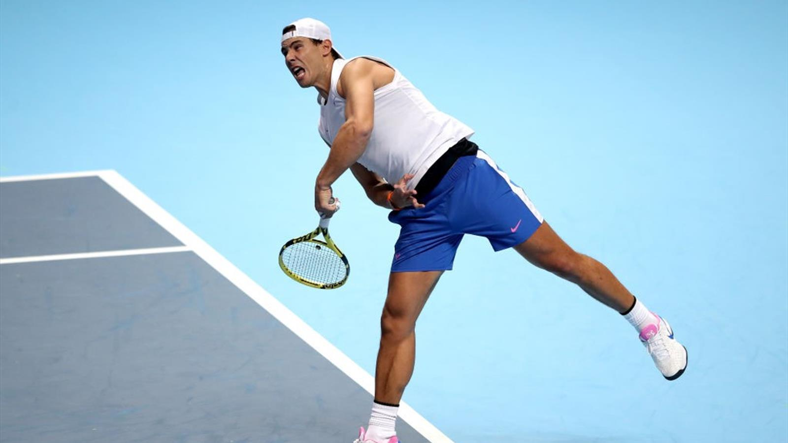 Tennis news - ATP Finals Day Two Order of Play: Rafael Nadal begins bid for elusive title
