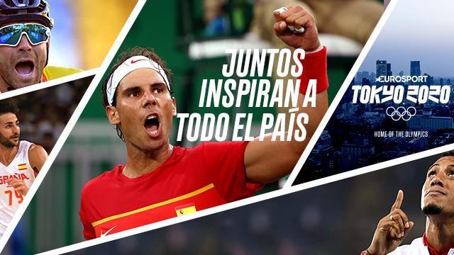 Eurosport sigue la cuenta atrás a los Juegos con los atletas españoles: juntos inspiran a España