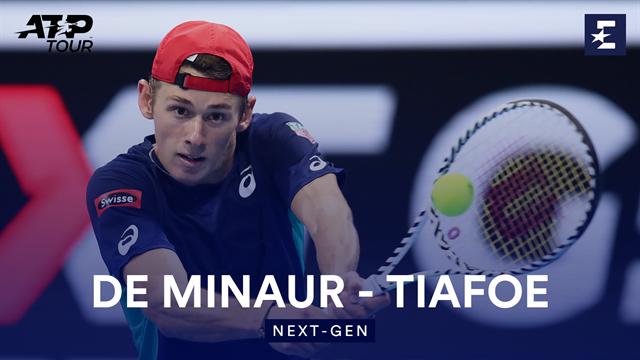 Де Минаур превзошел Тиафо и стал первым финалистом NextGen Finals