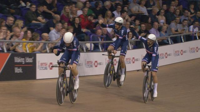 France beat GB to bronze in men's pursuit