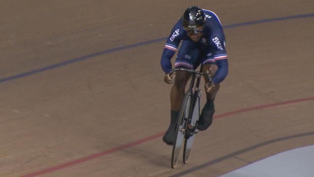 Copa del Mundo de ciclismo en pista: Francia logra el bronce en esprint masculino