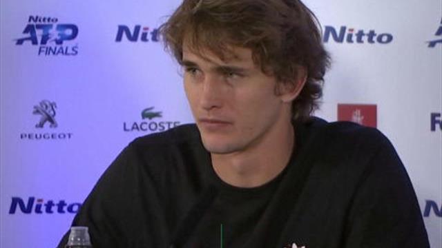 """ATP Finals - Zverev: """"Les jeunes sont en train de progresser très vite"""""""