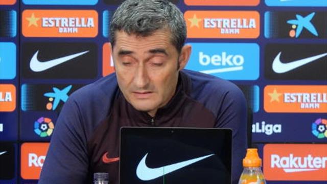 """Valverde :  """"Dembélé doit s'endurcir par moments et être un génie à tous les matches"""""""