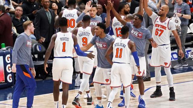 102-106. Morris guía a los Knicks que vencen a Porzingis y a los Mavericks