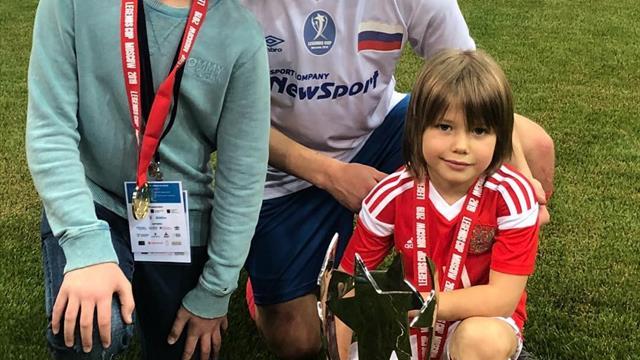 Шестилетний сын Аршавина признан игроком недели академией «Барселоны»