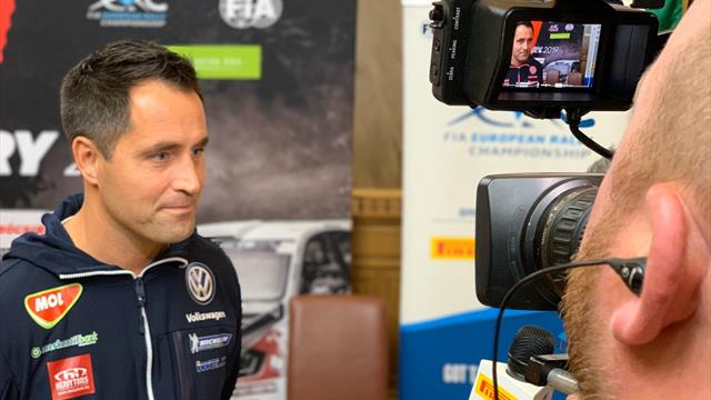 Tough start for home ERC hero Herczig