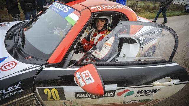 Drama in ERC Abarth Rally Cup
