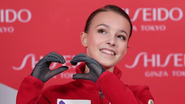Щербакова выиграла этап в Китае и отобралась в финал Гран-при, Туктамышева – третья