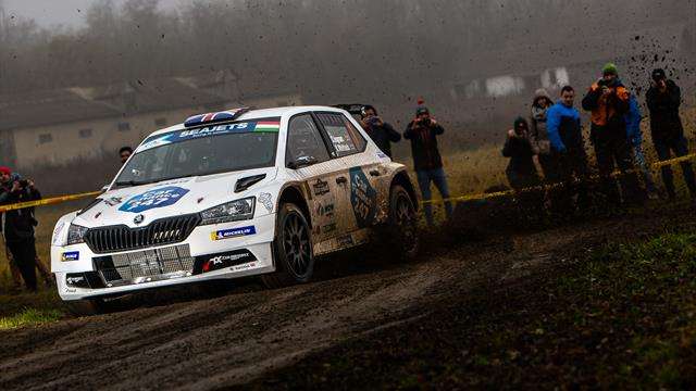 """ERC points leader Ingram """"too cautious"""" amid tricky morning stages in Hungary"""