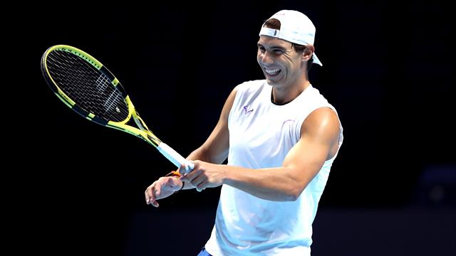 Nadal hoping to be '100%' by ATP Finals opener