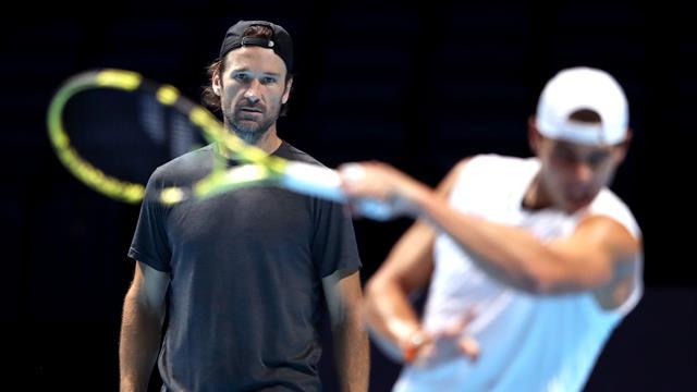 """ATP Finals 2019: Moyá ve el saque de Nadal listo """"en un 80 %"""""""