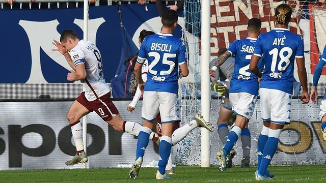 Torino impietoso all'esordio di Grosso: 4-0 al Brescia con Belotti e Berenguer