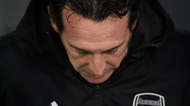 Emery asks Arsenal board for 'time and patience'