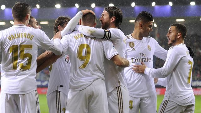LaLiga, Éibar-Real Madrid: El rodillo lo lidera Benzema (0-4)