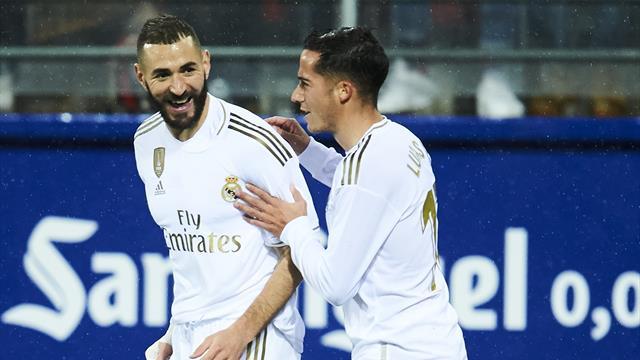 ⚽ El Real Madrid golea en Ipurúa en uno de sus mejores partidos y se sitúa líder provisional