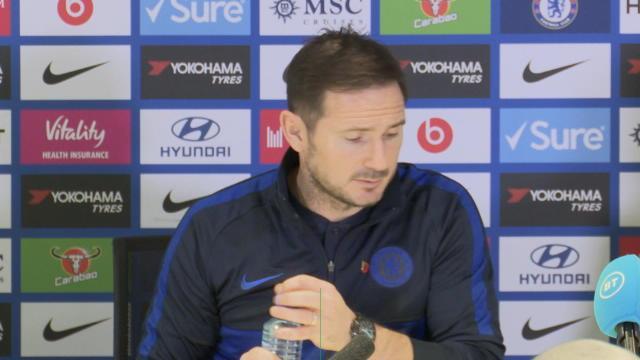 """13e j. - Lampard : """"Une belle victoire avec un solide clean sheet"""""""
