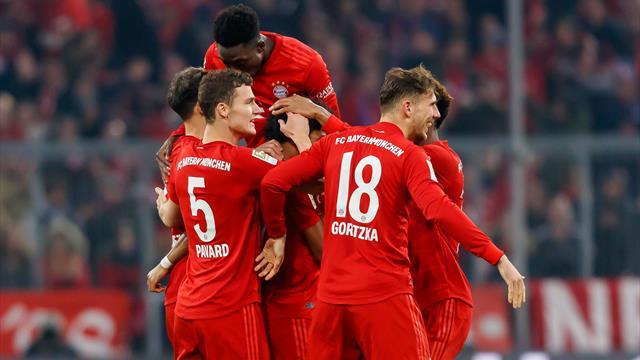 4:0! Bayern schießt BVB aus der Arena