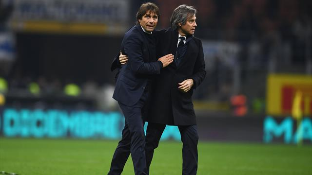 """Conte: """"31 punti in 12 partite sono un bel bottino, complimenti a questa Inter"""""""