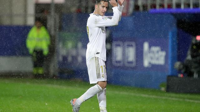 Lucas Vázquez regresó a la titularidad tras más de un mes de ausencia
