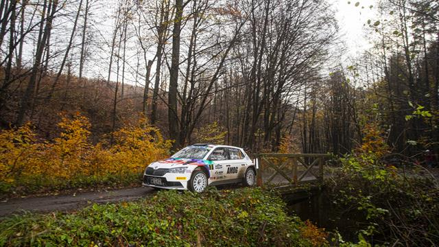Von Thurn und Taxis leads Sunday road order for ERC finale
