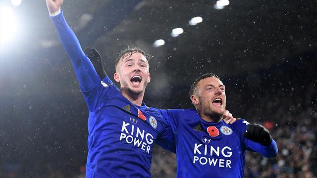 Sieg gegen Arsenal: Leicester zieht an City vorbei