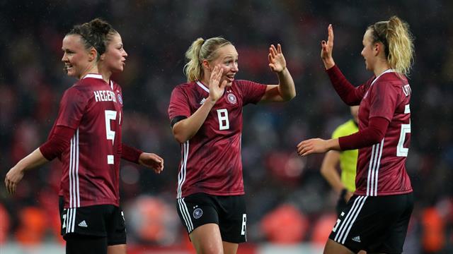 DFB-Frauen erkämpfen den Sieg im Wembley-Kracher