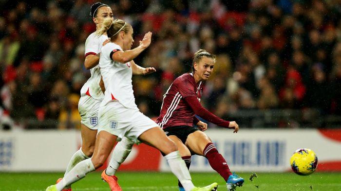 Dfb Frauen Gewinnen Gegen England In Wembley Mit 2 1