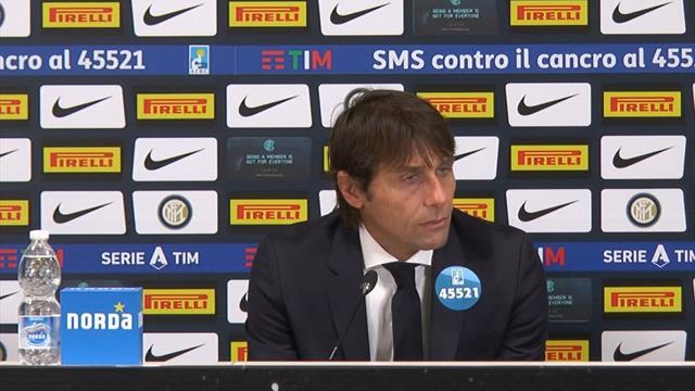 """Conte: """"Orgoglioso per questa Inter. E possiamo guardare negli occhi Barça e Borussia"""""""