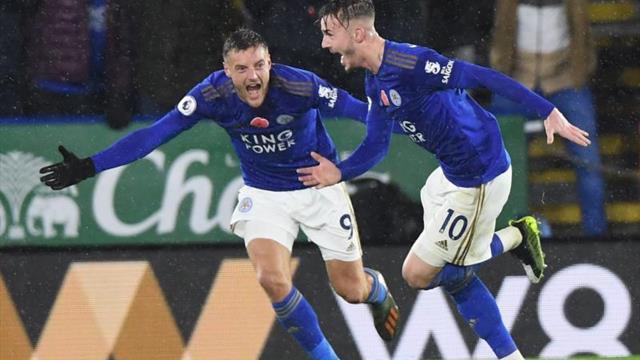 Vardy y Maddison agravan la crisis del Arsenal