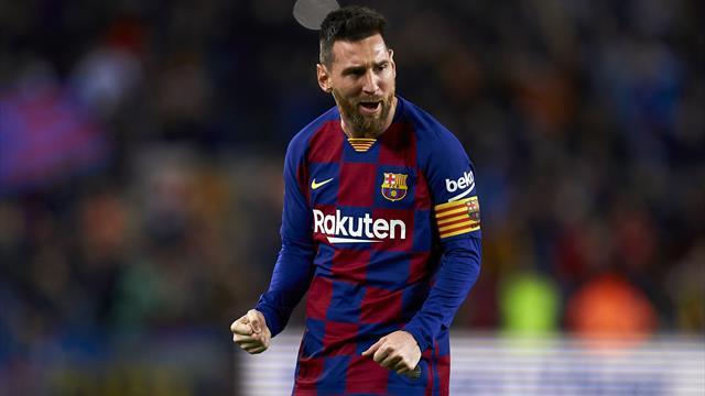 Dank Zauberfuß Messi: Barca zurück an der Tabellenspitze
