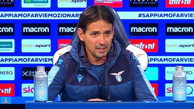 """Inzaghi: """"Applausi a Liverani. Milinkovic? Può fare di più, ma sono contentissimo di lui"""""""