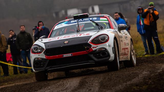 Joy and despair: Nucita is provisional ERC Abarth Rally Cup champion as Polonski retires