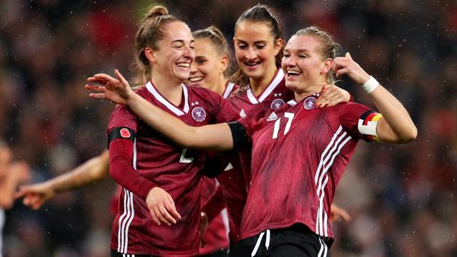 """DFB-Frauen rocken Wembley: """"Sind auf dem richtigen Weg"""""""