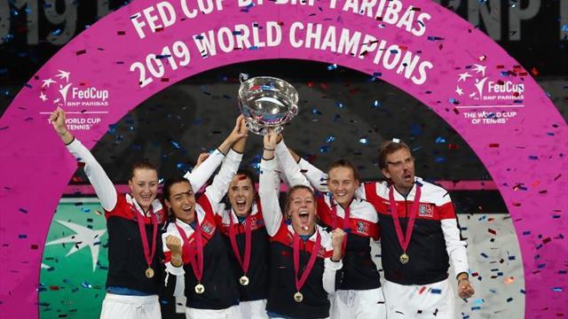 Francia gana su tercera Copa Federación