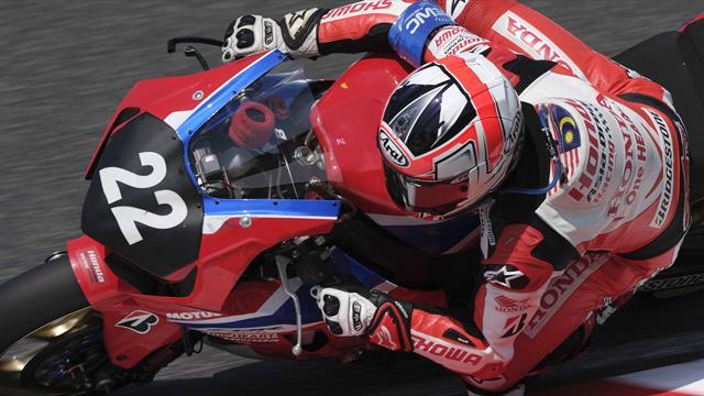 Honda Asia Dream Racing with Showa en vue à Sepang
