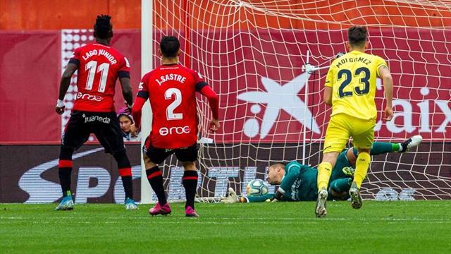 💣 ⚽ Kubo se exhibe con un golazo en una mañana de penaltis en Son Moix